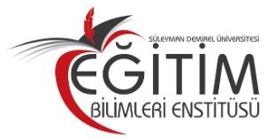 SDÜ Eğitim Bilimleri Enstitüsü